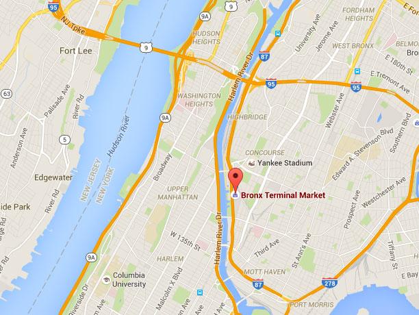 Directions Bronx Terminal Market
