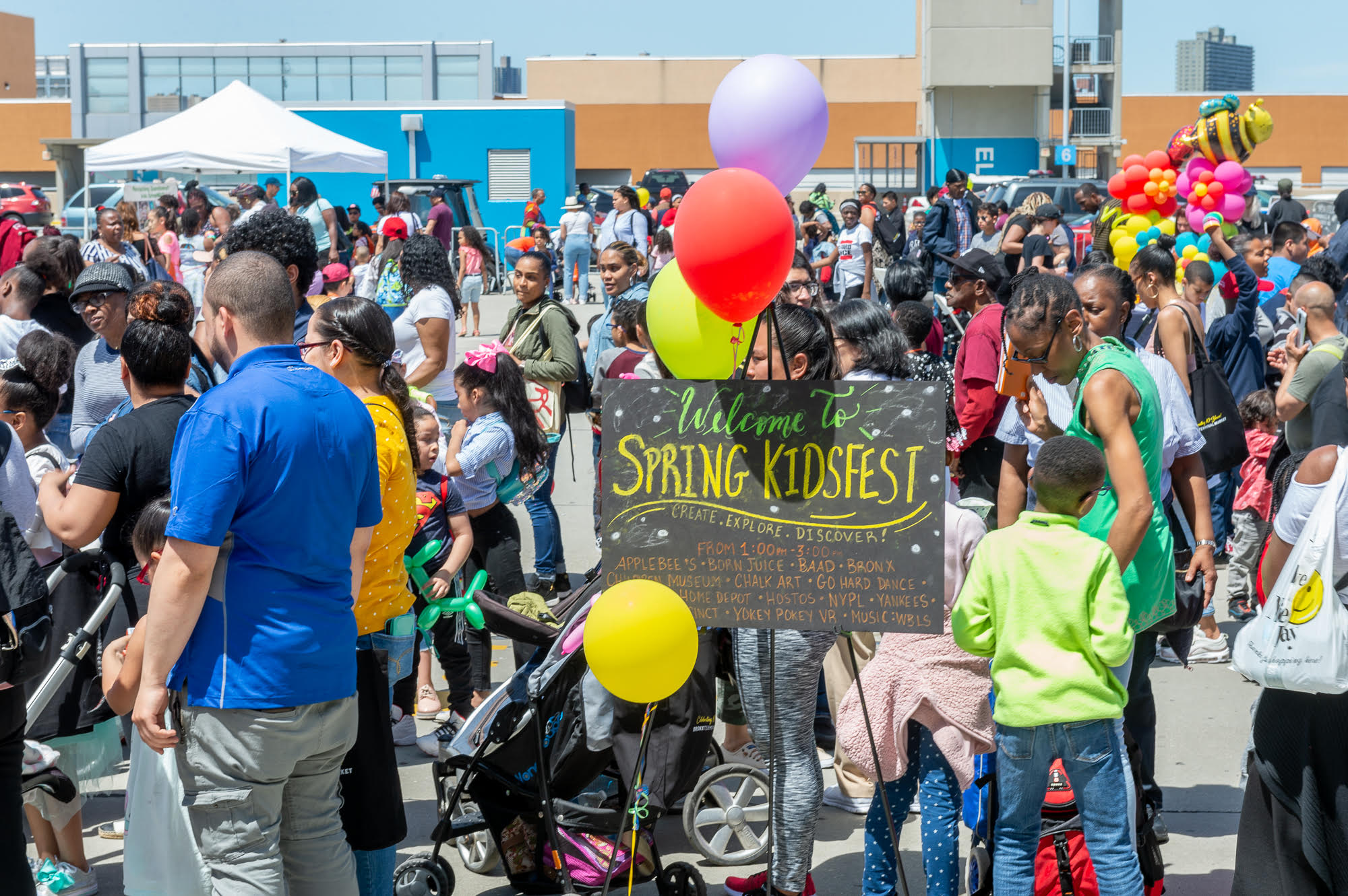 Spring KidsFest Welcome Sign
